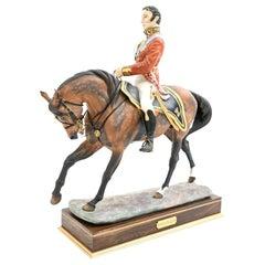 Worcester Royal Porcelain Duke of Wellington Sculpture