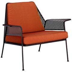 """Work is Over"" Lounge Chair in Varnished Steel by Moroso for Diesel"
