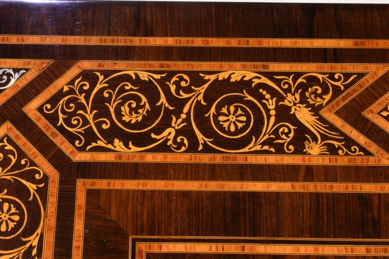 Work Table, Florentine Cabinetry, circa 1850 For Sale 3