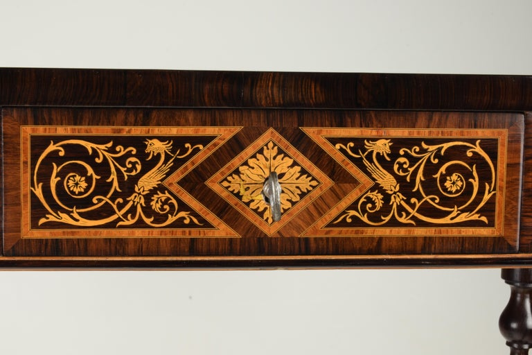 Work Table, Florentine Cabinetry, circa 1850 For Sale 7