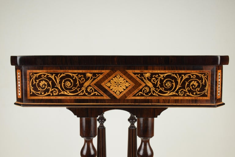 Work Table, Florentine Cabinetry, circa 1850 In Good Condition For Sale In Prato, IT