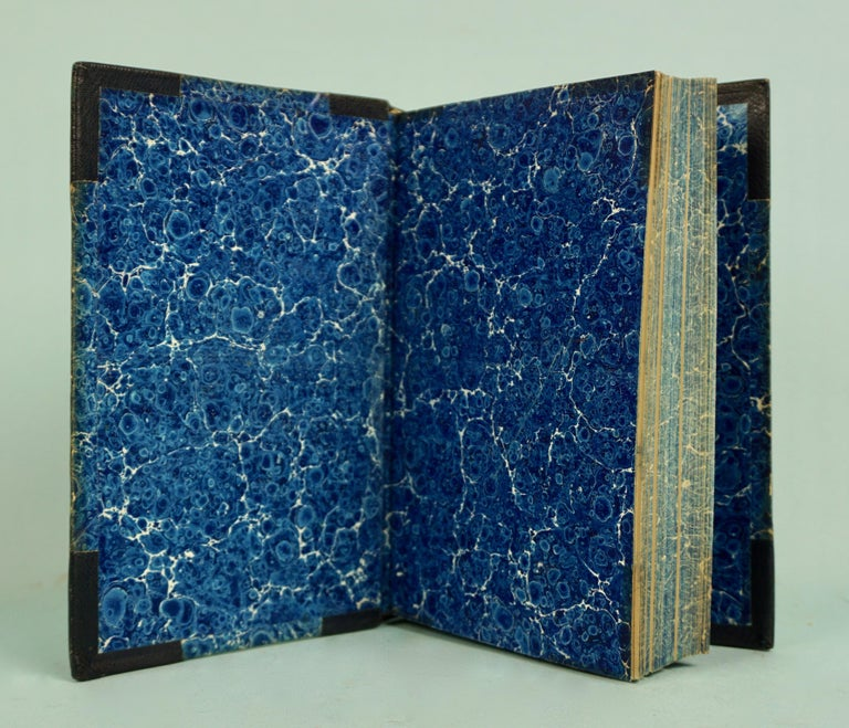 Works of F. Crawford in 5 Volumes Bound in Blue Morocco Leather with Gilt Spines In Good Condition For Sale In San Francisco, CA