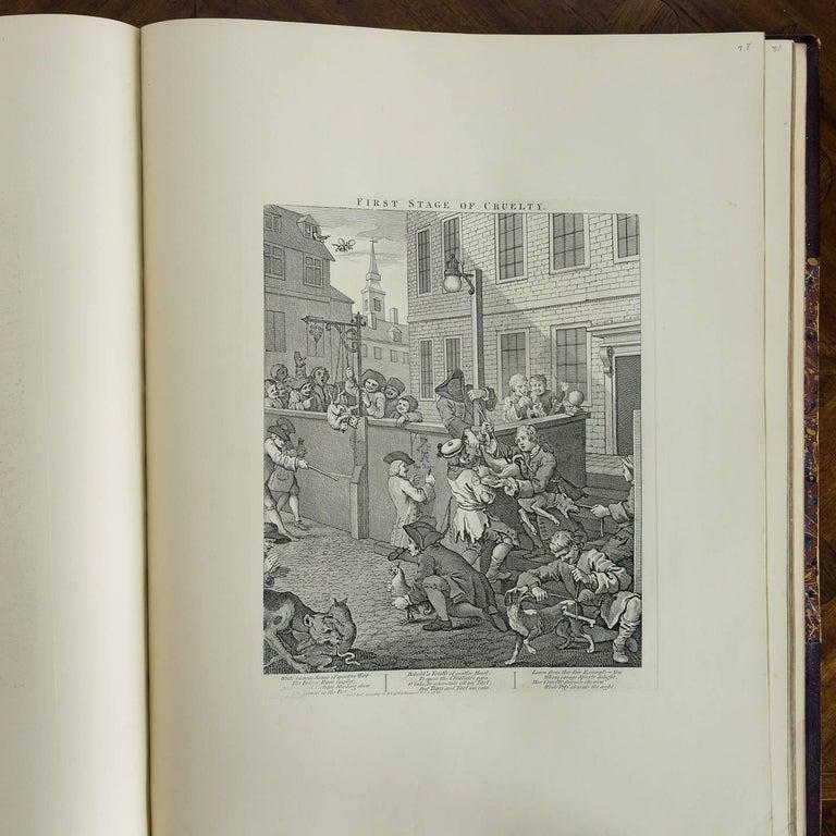 Works of Hogarth, Complete Folio, 1822 6