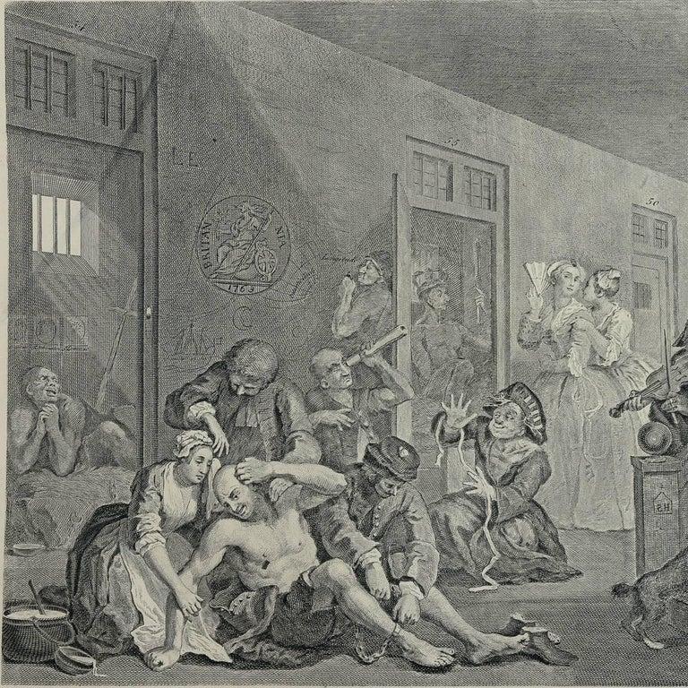 Works of Hogarth, Complete Folio, 1822 9