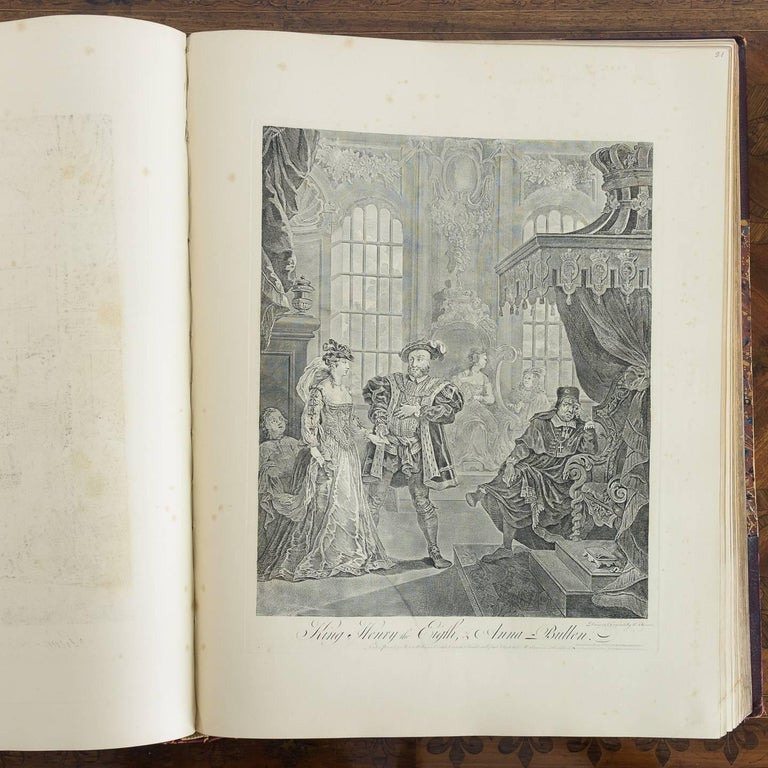 Works of Hogarth, Complete Folio, 1822 12