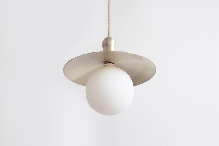 Workstead Helios Cord Pendant In New Condition For Sale In Hudson, NY