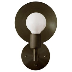 Workstead Orbit Sconce in Hand Finished Bronze
