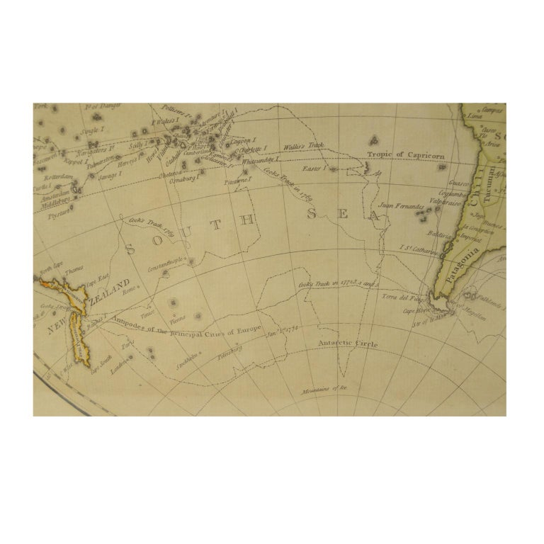 World Map Published in June 1783 by Stackhouse and Engraved by S.J. Neele London For Sale 4