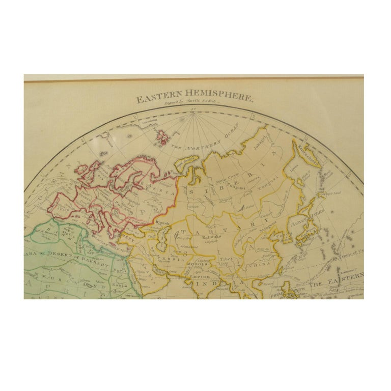 World Map Published in June 1783 by Stackhouse and Engraved by S.J. Neele London For Sale 7