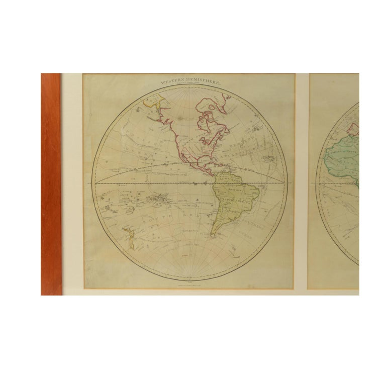 Late 18th Century World Map Published in June 1783 by Stackhouse and Engraved by S.J. Neele London For Sale