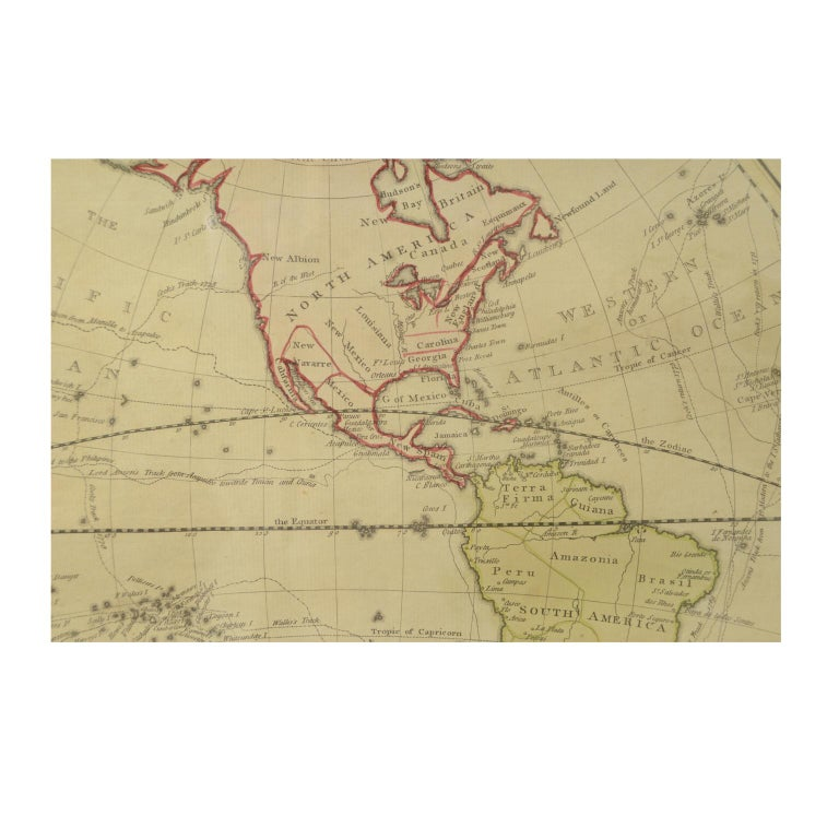 World Map Published in June 1783 by Stackhouse and Engraved by S.J. Neele London For Sale 3