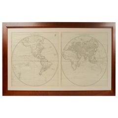 World Map Published in Vienna 1786 by Franz Anton Schraembl