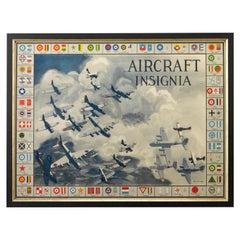 World War II Aircraft Insignia Military Poster, circa 1942