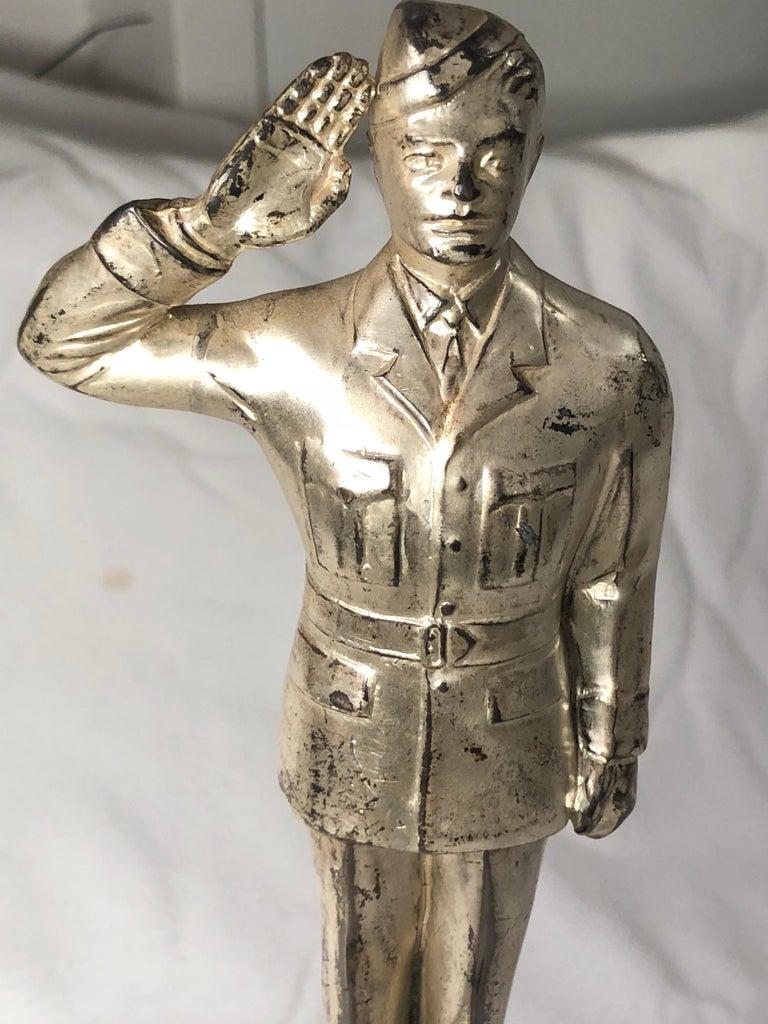 American World War II Officer Trophy For Sale