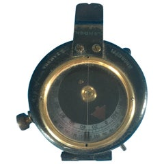 World War One 1918 Military Compass with Its Original Case