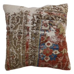Worn Persian Rug Pillow