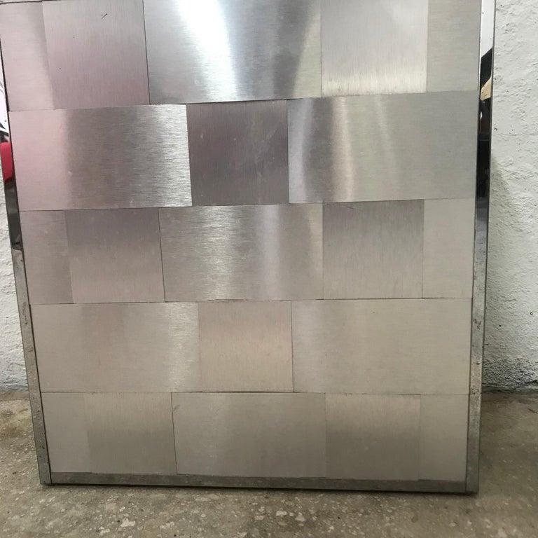 American Woven Aluminum Laundry Hamper Chest For Sale