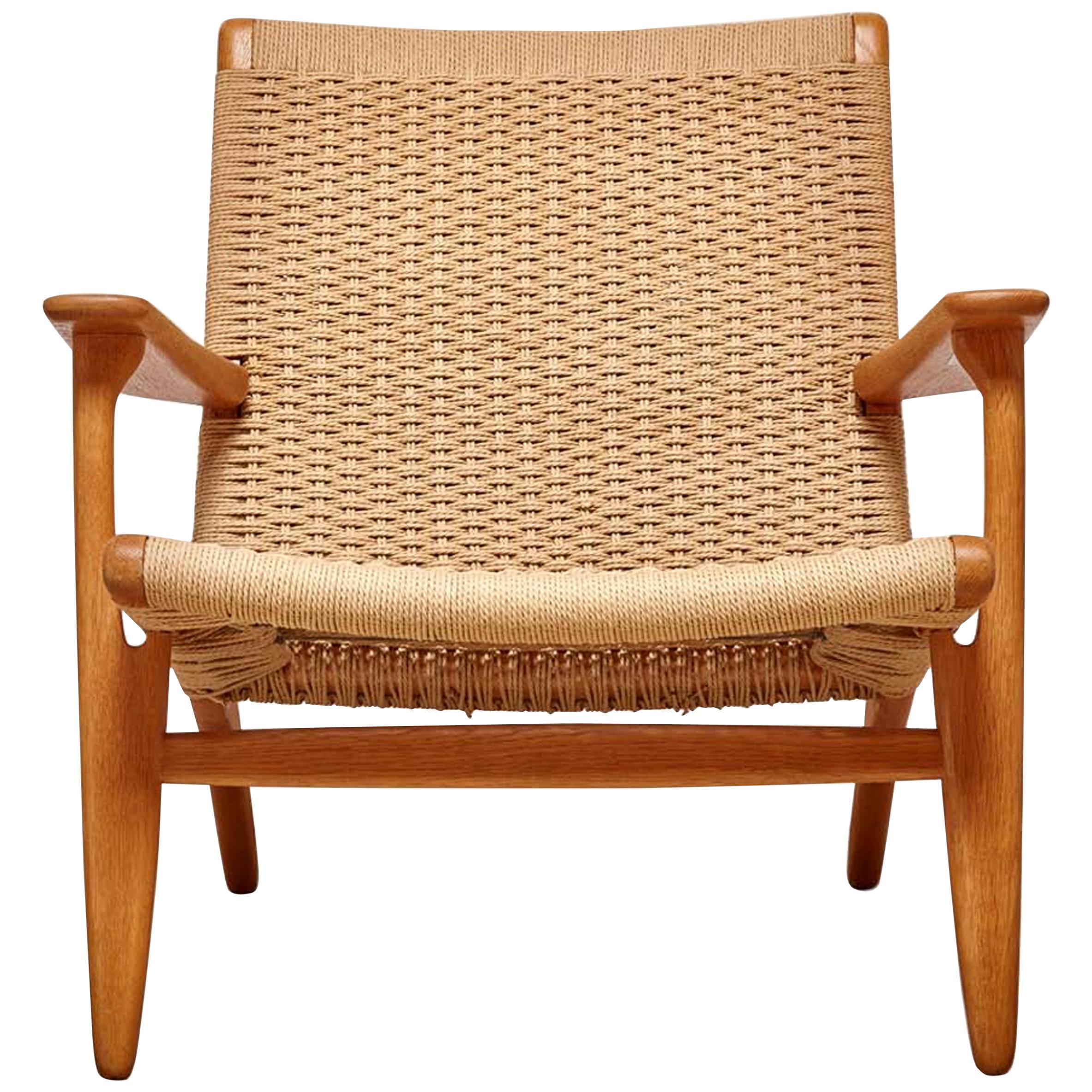 Woven CH25 Chair by Hans Wegner for Carl Hansen & Son