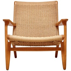 Woven CH25 Chair by Hans Wegner for Carl Hansen & Son