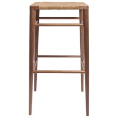 Woven Rush Counter Stool by Mel Smilow