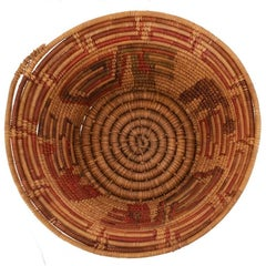 Woven Seagrass Native Round Basket