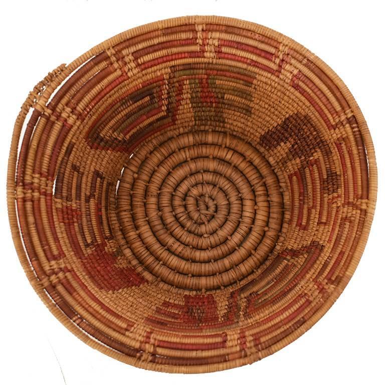 Woven Seagrass Native Round Basket