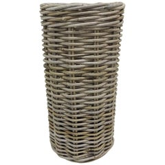 Woven Tall Willow Umbrella Stand