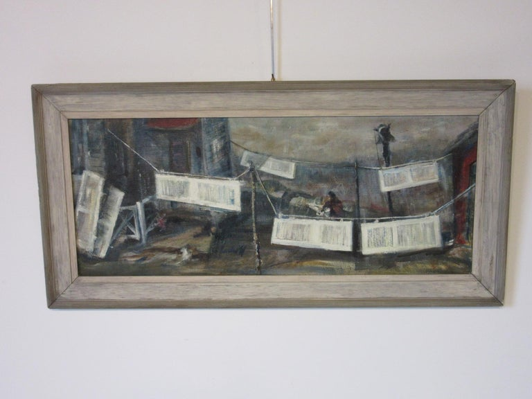 WPA Styled Painting by John Imhoff For Sale 2