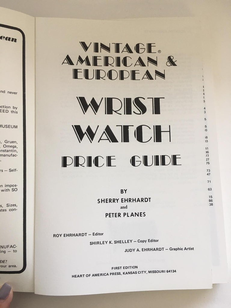 Black Wrist Watches- Vintage American & European  For Sale