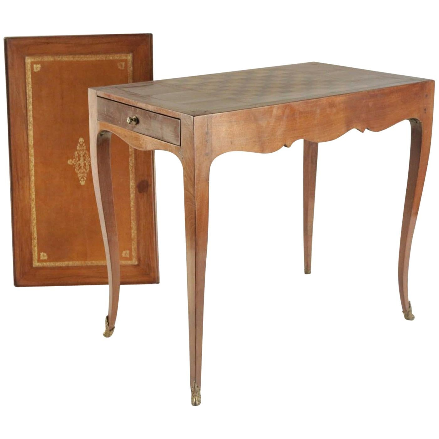 Writing Desk and Games Table, 19th Century