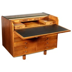 Writing Desk by Gianfranco Frattini for Bernini Vintage Italy 1970s