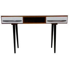 Writing Desk Designed by Architect M. Požár, Retro Style Brusel, 1960s