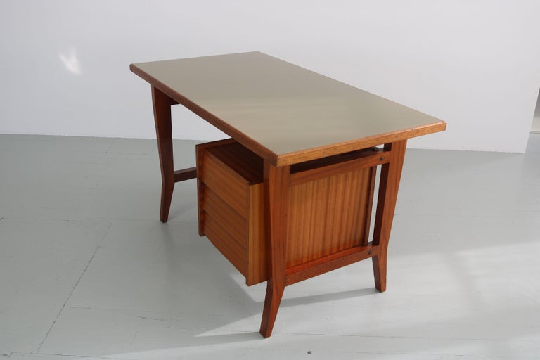 Writing Desk Designed by Gio Ponti / Scirolli, Italy, 1960s For Sale 3