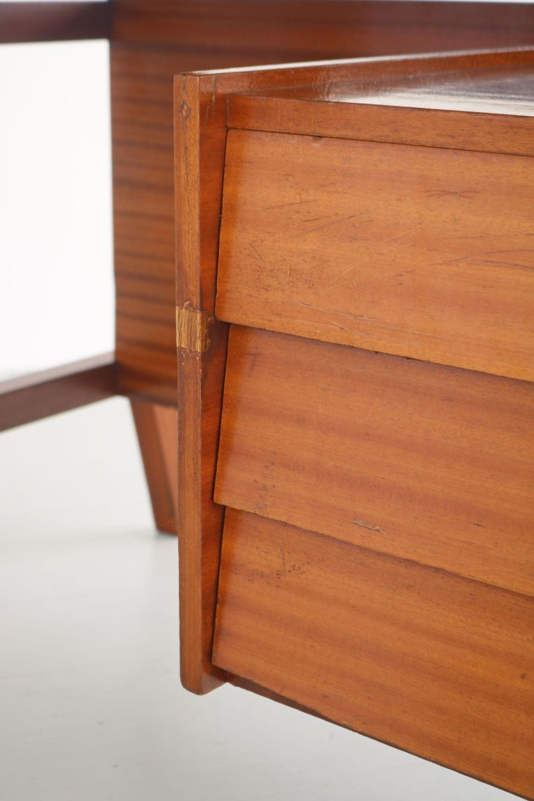 Writing Desk Designed by Gio Ponti / Scirolli, Italy, 1960s For Sale 4