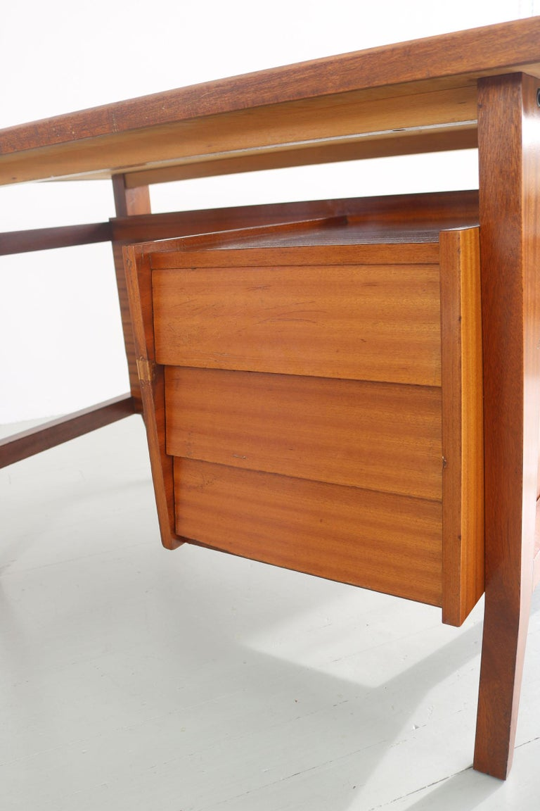 Writing Desk Designed by Gio Ponti / Scirolli, Italy, 1960s For Sale 5