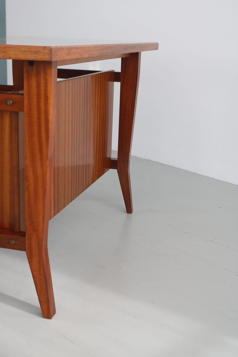 Writing Desk Designed by Gio Ponti / Scirolli, Italy, 1960s For Sale 7