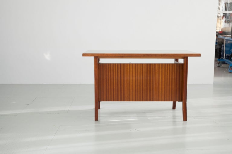 Mid-20th Century Writing Desk Designed by Gio Ponti / Scirolli, Italy, 1960s For Sale