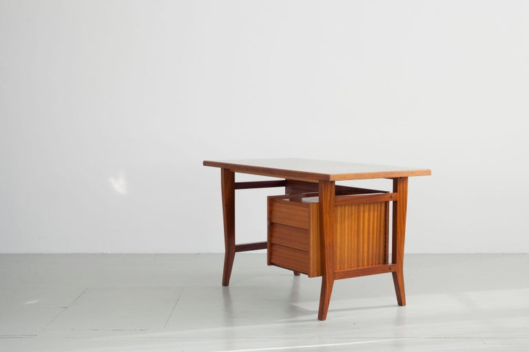 Writing Desk Designed by Gio Ponti / Scirolli, Italy, 1960s For Sale 2