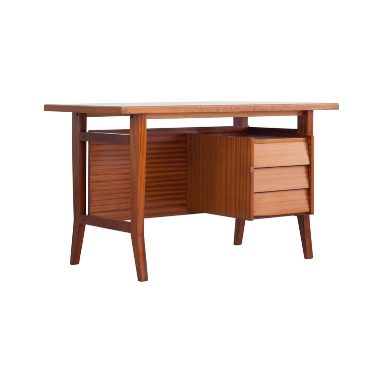 Writing Desk Designed by Gio Ponti / Scirolli, Italy, 1960s For Sale