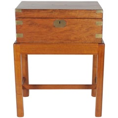 Writing Desk on Stand Stamped RE Johnson