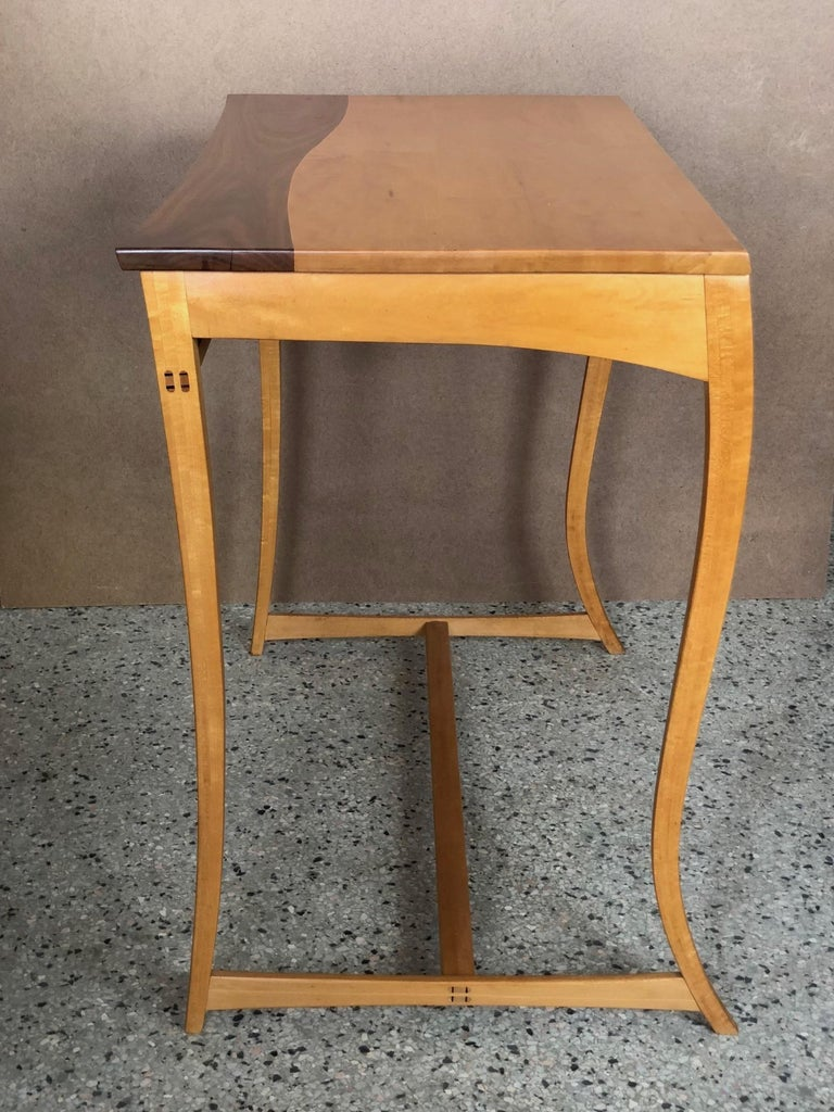 Modern Writing Desk or Console by Byron Robitaille For Sale