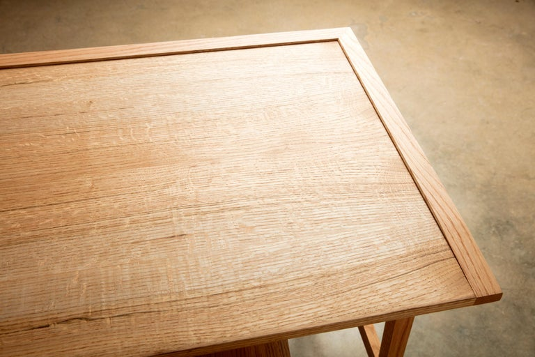Writing or Computer Desk and Chair in Natural Oakwood by Alabama Sawyer For Sale 6