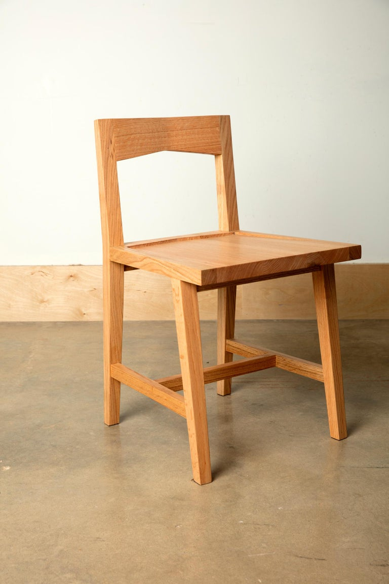 We handcraft this Classic natural oakwood writing desk and chair set with hardwoods from Birmingham's urban forest. For your home office, computer desk or a place to work from home, comfortable and focused, on a novel or a grocery list. Urban