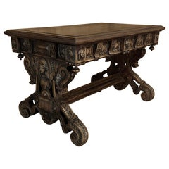 Writing Table, 19th Century French Renaissance