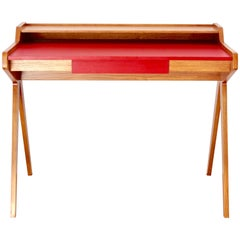 Writing Table, Desk by Helmut Magg for WK Möbel, Midcentury, 1950s