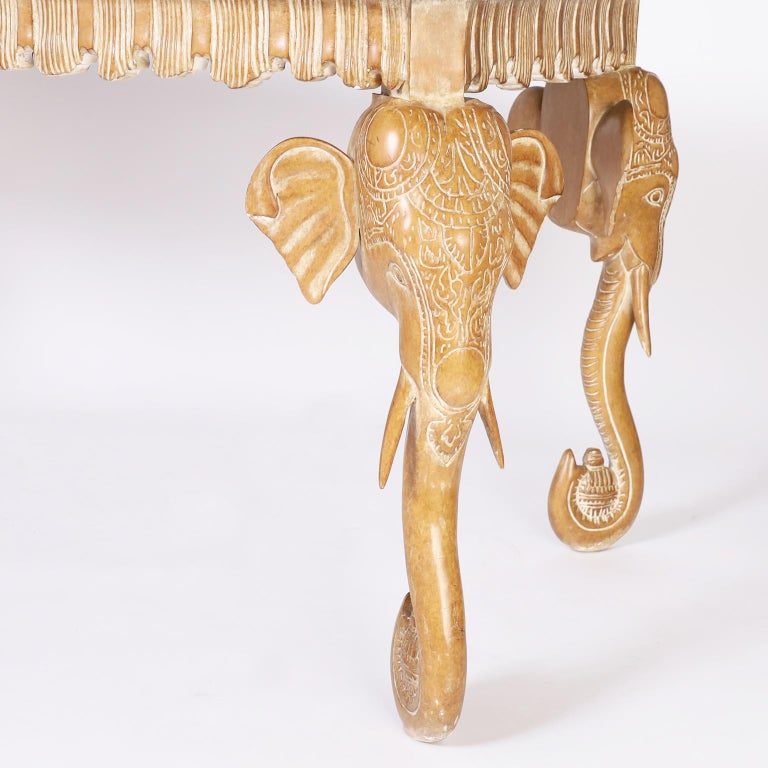Writing Table with Elephant Head Legs For Sale 2