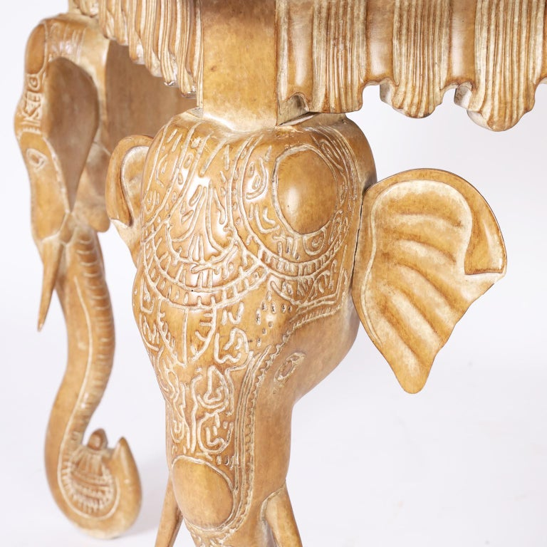 Writing Table with Elephant Head Legs For Sale 1