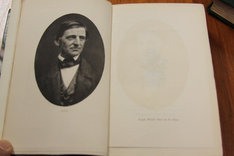 Collections of Leather bound Antiques Books. The Writings of Ralph W. Emerson 4