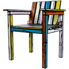 Wrong Woods Numbered Edition Studio Chair by Sebastian Wrong and Richard Woods