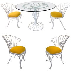 Hollywood Regency Dining Room Sets
